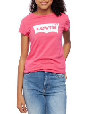 Levis Junior S/S Batwing Tee Tea Tree Pink