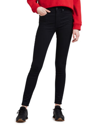 Levis Mile High Super Skinny Black Galaxy