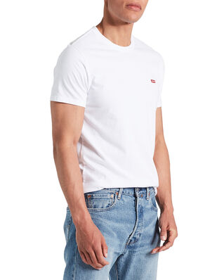 Levis SS Orginal Hm Tee Cotton + Patch White