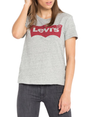 Levis The Perfect Graphic Tee Better Batwing Smokestack Heather