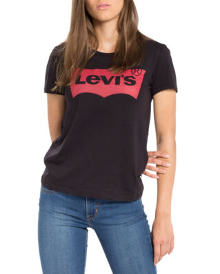 Levis The Perfect Graphic Tee Black Housemark