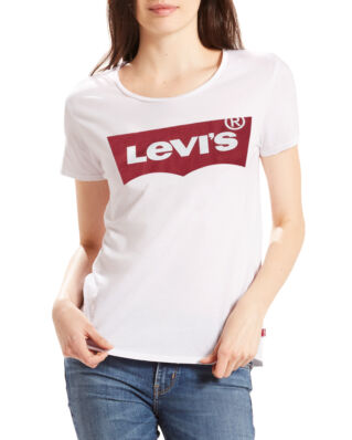 Levis The Perfect Graphic Tee White Red Housemark