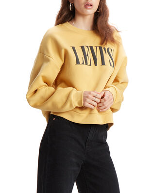 Levis Graphic Diana Crew Crew T2 90S Yellows/Oranges