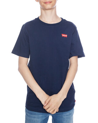 Levis Junior Batwing Chest Hit Tee Dress Blues