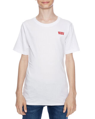 Levis Junior Batwing Chest Hit Tee White