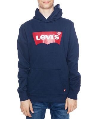 Levis Junior Batwing Screenprint Hoodie Dress Blues
