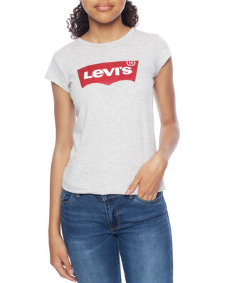 Levis Junior S/S Batwing Tee Light Gray Heather