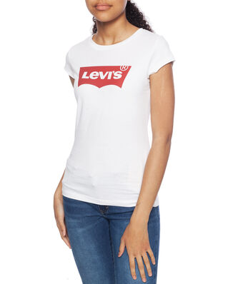 Levis Junior S/S Batwing Tee Red / White