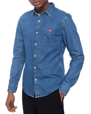 Levis Ls Battery Hm Shirt Slim Redca Blues