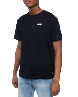 Levis Relaxed Graphic Tee 2H Text Mi Blacks