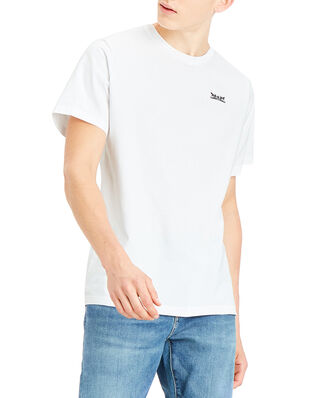 Levis Relaxed Graphic Tee 2H Text Wh Neutrals