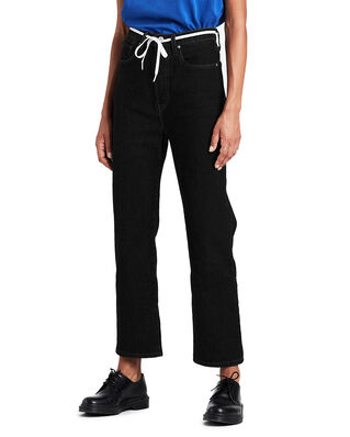 Levis Ribcage Straight Ankle Black H Blacks