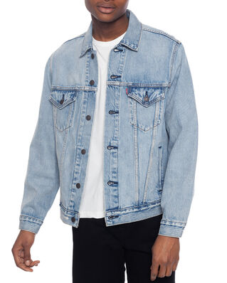 Levis Vintage Fit Trucker V Super Li Light Indigo - Worn In