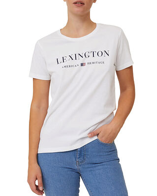 Lexington Vanessa Organic Cotton Tee White