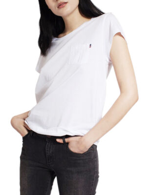 Lexington Ashley Jersey Tee Bright White