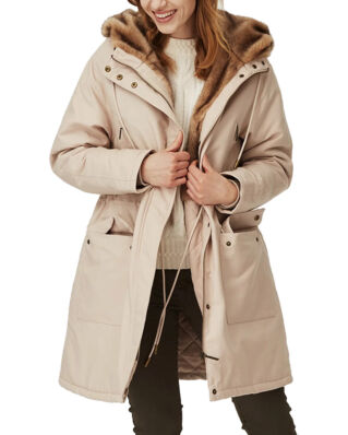 Lexington Biella Cotton Parka Light Beige
