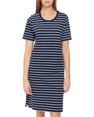 Lexington Blossom Dress Blue/White Stripe