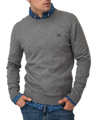 Lexington Bradley Crew Neck Sweater Gray Melange