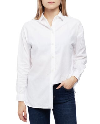 Lexington Edith Lt Oxford Shirt White