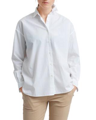 Lexington Edith Poplin Shirt Bright White