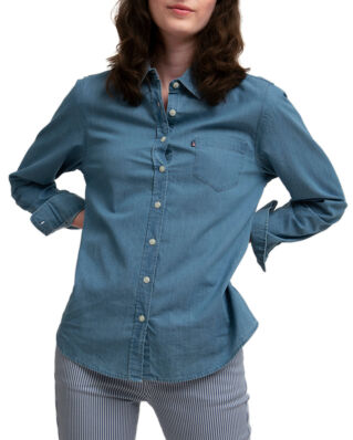 Lexington Emily Denim Shirt Lt Blue Denim
