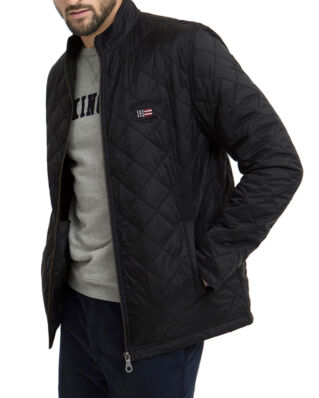 Lexington Hector Quilted Jacket Caviar Black