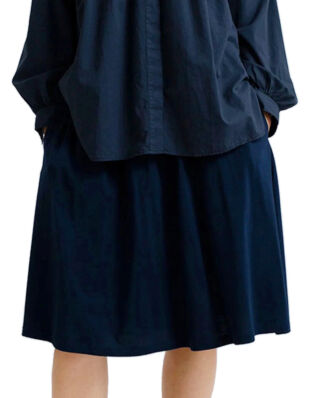 Lexington Jenni Jersey Skirt Navy Blue