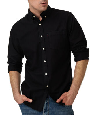 Lexington Kyle Oxford Shirt Black