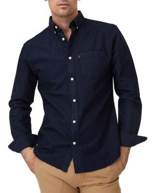 Lexington Kyle Oxford Shirt Dark Blue