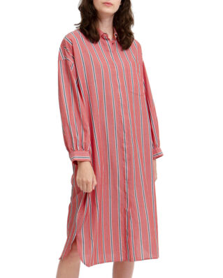 Lexington Marlowe Cotton Voile Dress Pink Multi Stripe