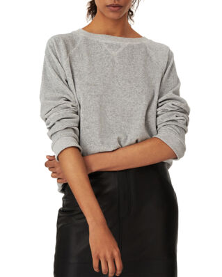 Lexington Martha Velour Sweatshirt Gray Melange