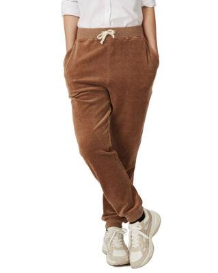 Lexington Minnie Velour Pants Beige Melange