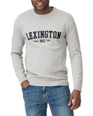 Lexington Nelson Knitted Sweatshirt Gray Melange