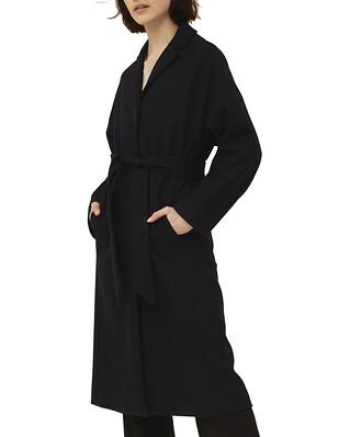 Lexington Alice Wool Blend Coat Dark Blue