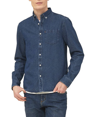 Lexington August Denim Shirt Medium Blue Denim