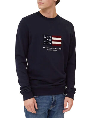 Lexington Barry Organic Cotton Sweatshirt Dark Blue