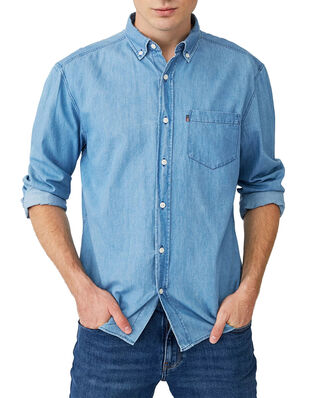 Lexington Clive Shirt Lt Blue Denim