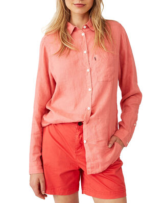 Lexington Isa Linen Shirt Pink