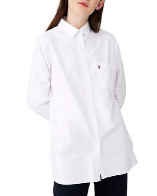 Lexington Isa Organic Cotton Oxford Shirt White