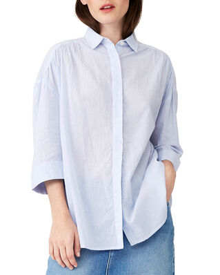 Lexington Olympia Shirt Blue/White Stripe