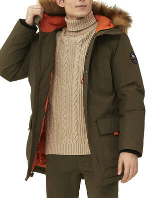 Lexington Owen Down Parka Green