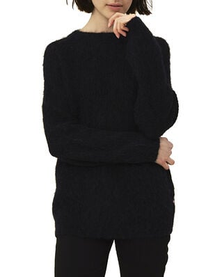 Lexington Siri Alpaca Blend Sweater Navy