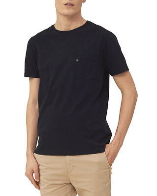 Lexington Travis Organic Cotton Tee Dark Blue
