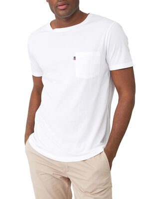 Lexington Travis Organic Cotton Tee White
