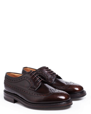 Loake 1880 Sovereign Dark Brown Polished Leather