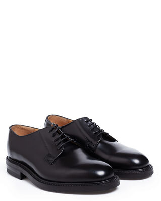 Loake 1880 Waverley Black Polished Leather