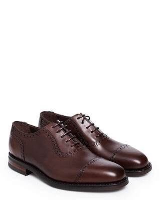 Loake 1880 Fleet Dark Brown Calf Leather