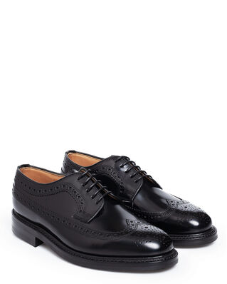 Loake 1880 Sovereign Black Polished Leather