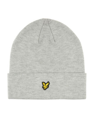 Lyle & Scott Beanie Light Grey Marl