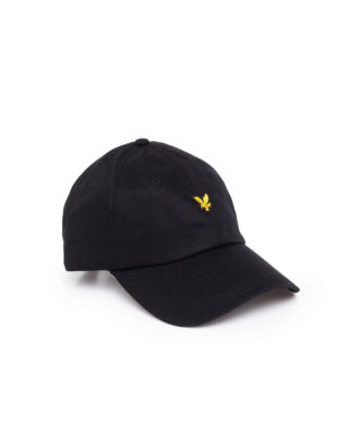 Lyle & Scott Cotton Twill Baseball Cap True Black